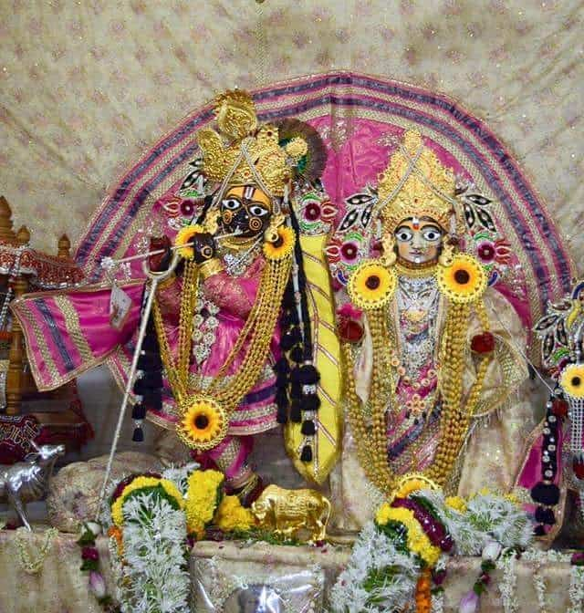 रमण बिहारी जी का मंदिर(रमण रेती)
