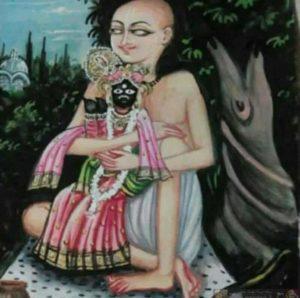 Swami haridas and banke bihari ji