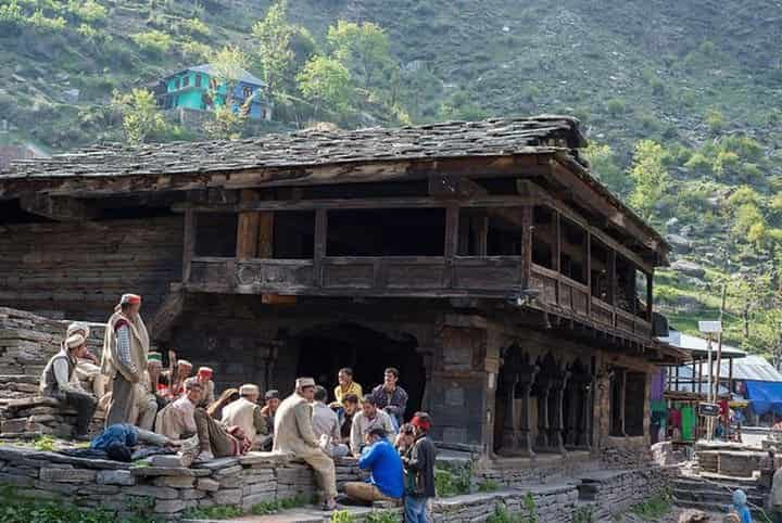 Malana Village people