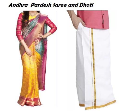 आंध्र प्रदेश की वेशभूषा(Andhra Pradesh costumes)